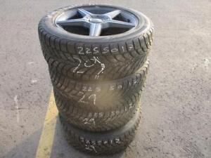 225/50 R17 KIA OPTIMA WINTER TIRES AND RIMS PACKAGE (SET OF 4) - USED BRIDGESTONE BLIZZAK TIRES APPROX. 70% TREAD