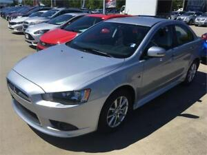2015 Mitsubishi Lancer automatic heated seast low km's