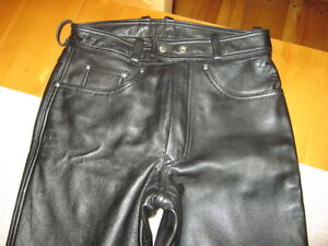 Ladies SPOOL Leather Bike Pants - NEW