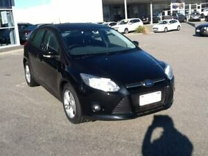 2013 Ford Focus LW MkII Trend PwrShift Black 6 Speed Sports Automatic Dual Clutch Hatchback Rockingham Rockingham Area Preview