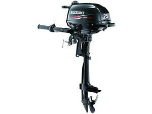 SUZUKI 2.5HP OUTBOARD - ULTIMATE SUMMER SALES EVENT