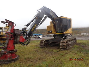 Tigercat L830 Feller Buncher