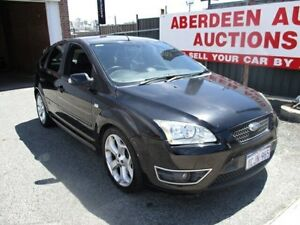 2006 Ford Focus LS XR5 Turbo Black 6 Speed Manual Hatchback West Perth Perth City Area Preview