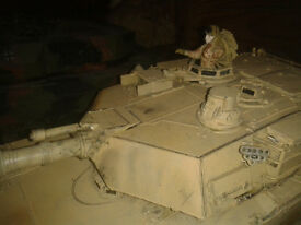 Handcrafted Remote Control Tanks - made from all sorts of scrap plastic and bits £6 each