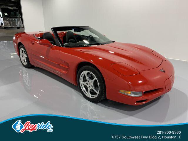 2004 Red Chevrolet Corvette Convertible  | C5 Corvette Photo 3