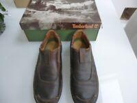 Men's Timberland slip-on tan coloured shoes UK size 9
