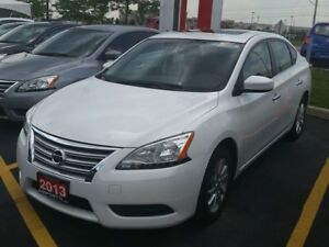 2013 Nissan Sentra SV LOADED,ROOF,ALLOY,PW,PL,AIR CONDITION