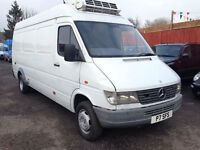 Mercedes-Benz Sprinter 412D LWB HIGH ROOF PANEL FRIDGE VAN
