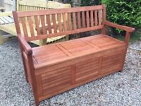 Willington Hardwood Bench. New. Storage..AVAILABLE IMMEDIATELY.