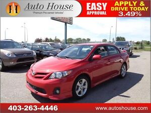 2012 Toyota Corolla S LEATHER, ROOF, NAVI EVERYONE APPROVED