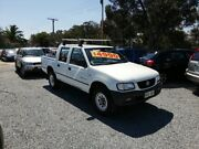 2002 Holden Rodeo TF MY02 LT Crew Cab 4x2 White 4 Speed Automatic Utility Para Hills West Salisbury Area Preview