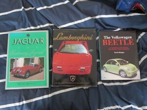 Car Coffee Table Book Lot Lamborghini & Jaguar Cambridge Kitchener Area image 1