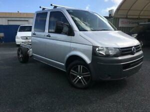 2010 Volkswagen Transporter T5 MY10 132 TDI 4 Motion LWB Silver 6 Speed Manual Dual Cab Chassis Currumbin Waters Gold Coast South Preview