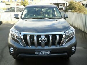 2016 Toyota Landcruiser Prado GDJ150R VX Graphite 6 Speed Sports Automatic Wagon Young Young Area Preview