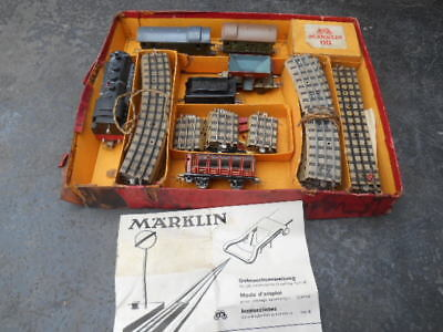 Marklin  OO Gauge Vintage Toy Trains Germany Prewar Late 1930s