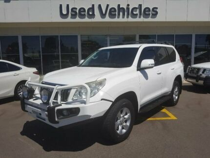 2011 Toyota Landcruiser Prado GRJ150R GXL White 5 Speed Sports Automatic Wagon Blair Athol Port Adelaide Area Preview