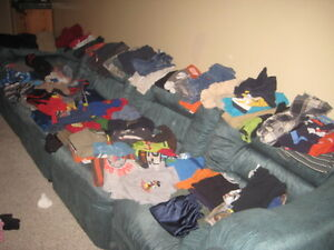 selling 165 piece boys size 2-4 clothes all seasons