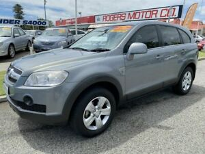 2009 Holden Captiva CG MY09.5 SX (4x4) Grey 5 Speed Automatic Wagon Victoria Park Victoria Park Area Preview