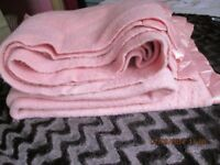 PURE WOOL DOUBLE BLANKET