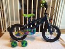 Child's Ben 10 Bike, 14 Inch Wheels, Stabilisers, Good Condition, Age 3.5 - 6 years