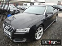 Audi A5 47148 MILES + 2.0 TDI S Line 2dr [Start Stop] + UPGRADED WHEELS (black) 2010