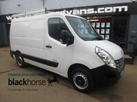 2011 Renault Master SL33 2.3DCi 125ps SWB Low Roof Park/Sens E/Pack Diesel white