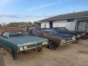 66 & 67 Beaumont Hardtops - dry stored +35 years / RARE finds. London Ontario image 3