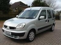 Renault Kangoo Expression Automatic WINCH 5 Seat Wheelchair Accessible WAV Car