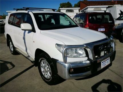 2011 Toyota Landcruiser UZJ200R 09 Upgrade GXL (4x4) White 5 Speed Automatic Wagon Cannington Canning Area Preview