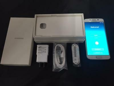 New In Box Samsung Galaxy S6 SM-G920V - 32GB - White Pearl (Verizon) Smartphone