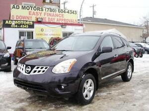 2013 NISSAN ROGUE SE 4X4 SUNROOF PARK ASSIST 107K-100% FINANCING