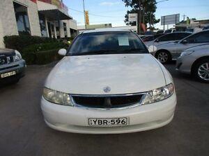 2002 Holden Berlina VX II White 4 Speed Automatic Sedan North Parramatta Parramatta Area Preview