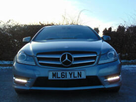 MERCEDES-BENZ C CLASS 2.1 C250 CDI BLUEEFFICIENCY AMG SPORT ED125 2d AUTOMATIC (silver) 2011