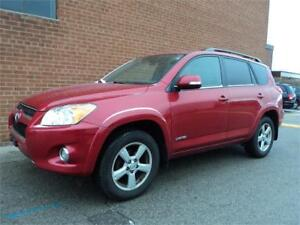 2010 Toyota RAV4 Limited SUNROOF PUSH BUTTON START SAFETY INCL