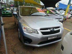 2014 Subaru Impreza G4 MY14 2.0i Lineartronic AWD Silver 6 Speed Constant Variable Hatchback Minchinbury Blacktown Area Preview