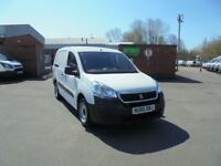 Peugeot Partner 715 S 1.6 Bluehdi 100 Crew Van DIESEL MANUAL WHITE (2017)