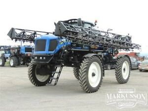 NH SP.275R Sprayer - 120', 1200gal, Raven E-Pro GPS 638hrs, MINT