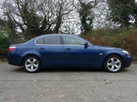 BMW 5 SERIES 3.0 530D SE 4d AUTO 228 BHP (blue) 2006