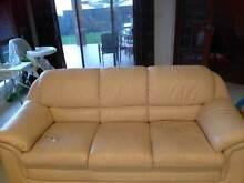 Italian Leather Lounge set (3+1+1) Harrison Gungahlin Area Preview