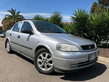 2004 Holden Astra TS Classic Silver 4 Speed Automatic Sedan Hoppers Crossing Wyndham Area Preview
