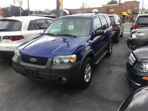 2005 Ford Escape XLT AWD AUTO CERTIFIED