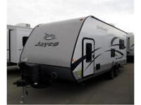 NEW 24 FT JAYCO JAYFEATHER ULT X213 TRAVEL TRAILER