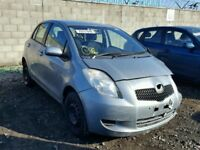 TOYOTA YARIS 2006 REG 1296 CC PETROL 5 DOOR HATCH (BREAKING ALL PARTS AVAILABLE)