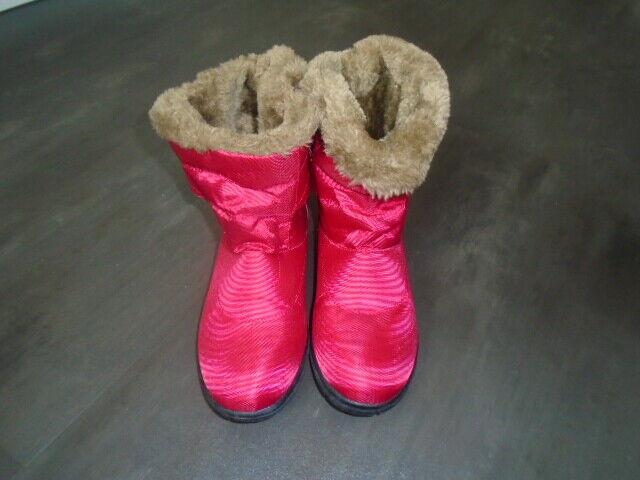 Damen Boots Stiefel Winterstiefel Stiefeletten warm mit Kunstfell  Gr.40