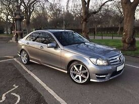 Mercedes C200 Sport 2011. One owner. Gunmetal grey.