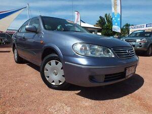 2004 Nissan Pulsar N16 MY2004 ST Blue 5 Speed Manual Sedan Rosslea Townsville City Preview