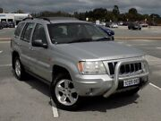 2004 Jeep Grand Cherokee WG MY2004 Overland Silver 5 Speed Automatic Wagon Maddington Gosnells Area Preview