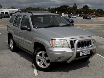 2004 Jeep Grand Cherokee WG MY2004 Overland Silver 5 Speed Automatic Wagon