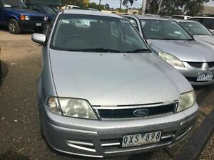 2001 Ford Laser KN LXI Silver 4 Speed Automatic Sedan Werribee Wyndham Area Preview