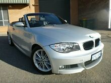 2008 BMW 125I E88 M-Sport Silver 6 Speed Automatic Convertible Willagee Melville Area Preview